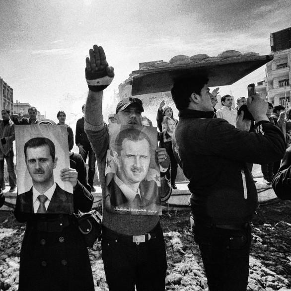 بائع الخبز السري دمشق 2012 - تصوير: مظفر سلمان