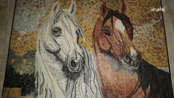 لوحات الفسيفساء في مدينة. كفرنبل.