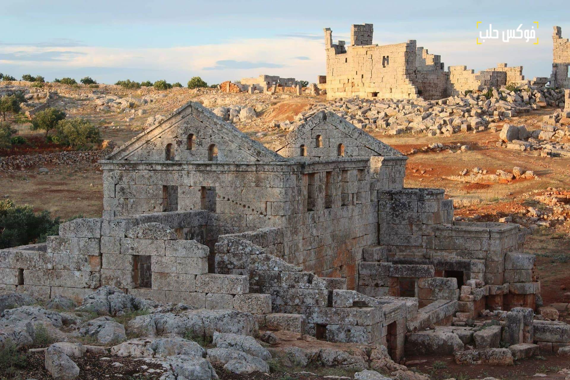 مدينة سرجيلا الأثرية بريف إدلب.
