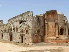 كنيسة قلب لوزة من آثار محافظة إدلب.