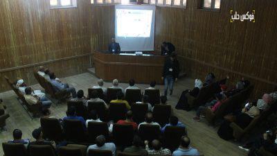 ندوة حول أهمية الآثار في متحف إدلب.