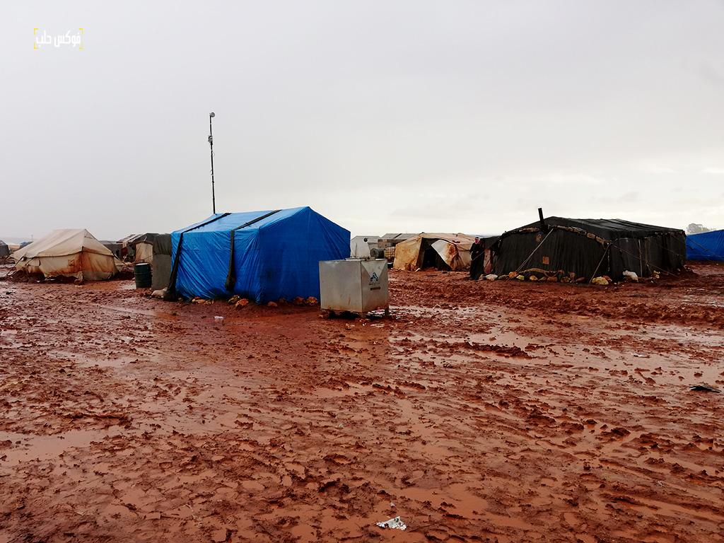 الواقع المأساوي في مخيم قرطبة1