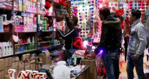ازدهار سوق الهدايا بمناسبة عيد الحب في مدينة الأتارب