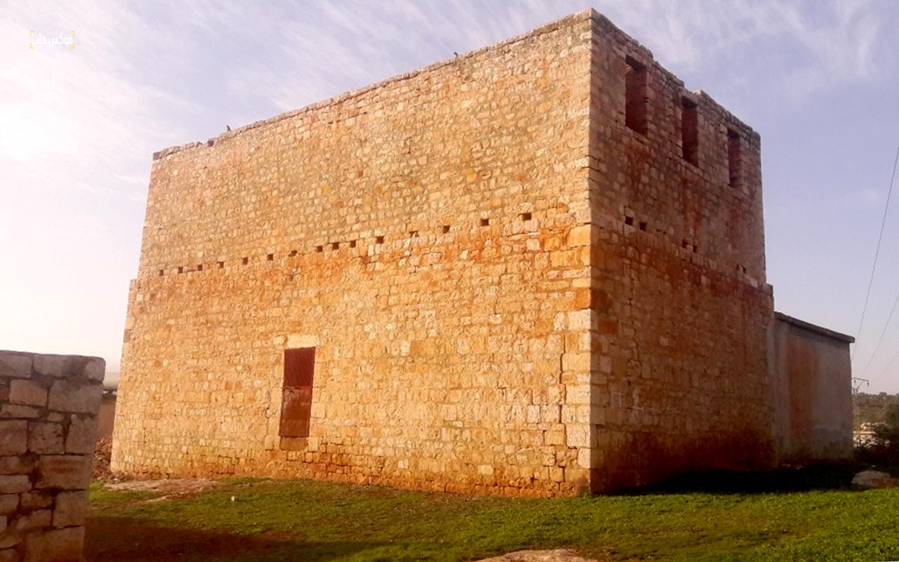 برج حمام ترملا بريف إدلب
