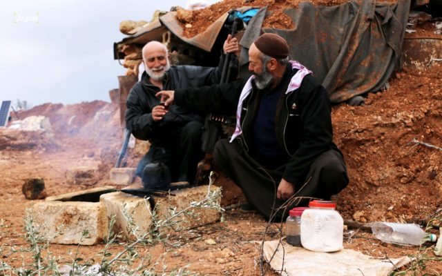 نقاط الرباط في خط الدفاع الثالث بريف حلب الغربي