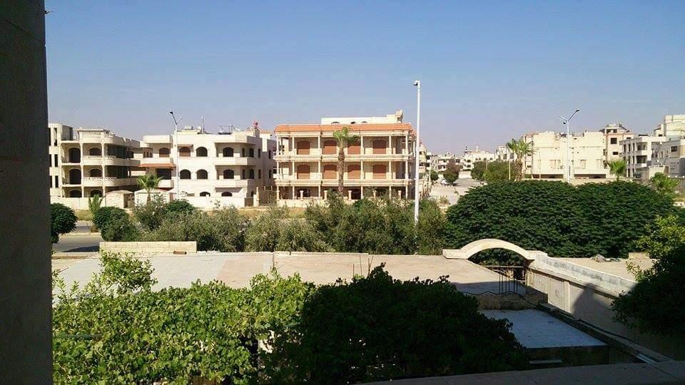 حي البرناوي في مدينة حماه -أنترنيت