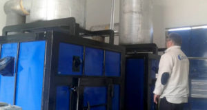 محرقة النفايات الطبية في مشفى كفرنبل الجراحي