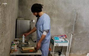 المركز الصحي الوحيد في قرية ميزناز بعد توقف الدعم عنه