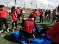 جانب من افتتاح أولمبياد الأمل في الأبزمو -فوكس حلب