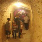 ألعاب أطفال تحت الأرض في دوما خلال فترة الحصار -إنترنيت