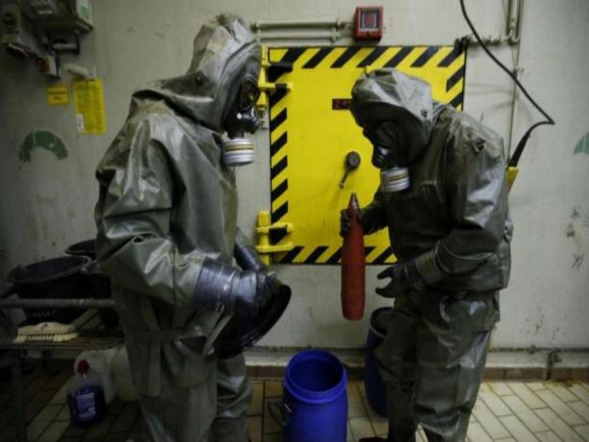 مفتشون من منظمة حظر الأسلحة الكيماوية -إنترنيت
