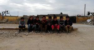 طلاب في واحدة من مدارس ريف حلب