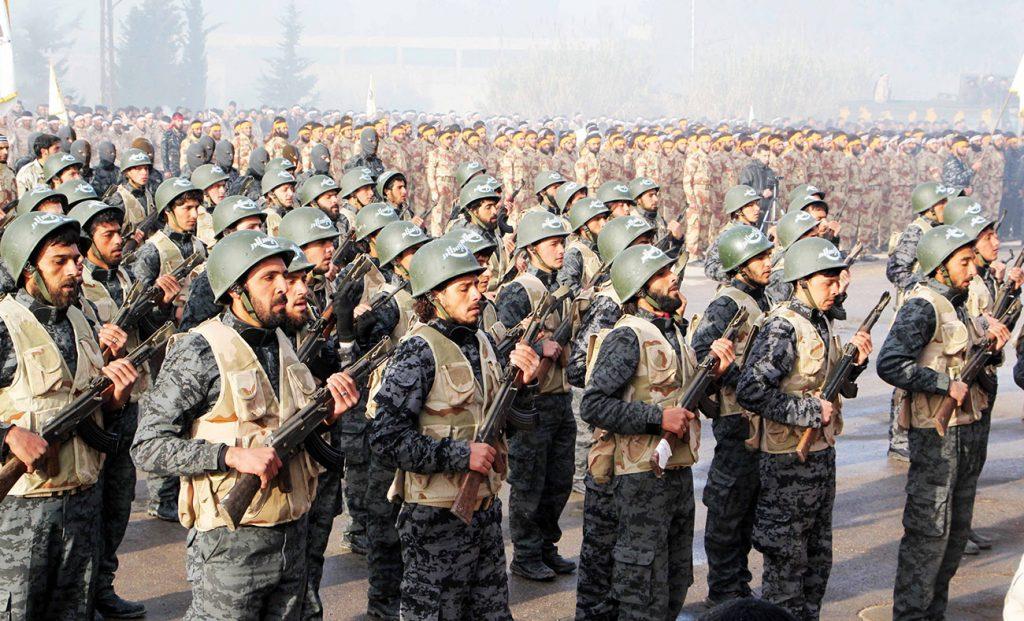 جيش الاسلام في الغوطة (انترنت)