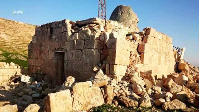 مقاسم سليمان في العيس بعد القصف من قبل قوات الأسد
