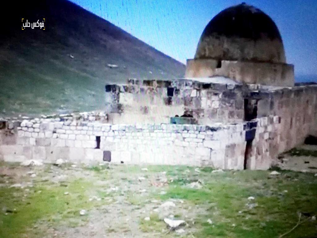"""مقام """"سليمان"""" قبل قصفه من قبل قوات الأسد"""