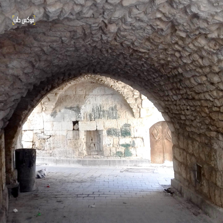 القناطر في أريحا القديمة قبل دمارها بالقصف الجوي الأخير