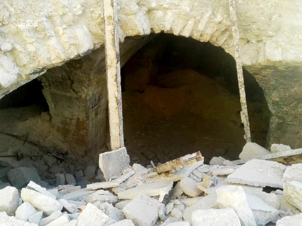حمام الريحاوي في مدينة أريحا بعد الضربات الأخيرة