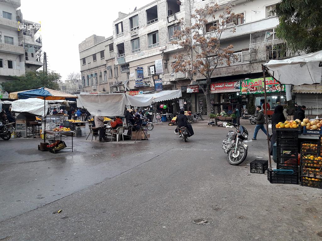 سوق أريحا قبل الضربات الأخيرة