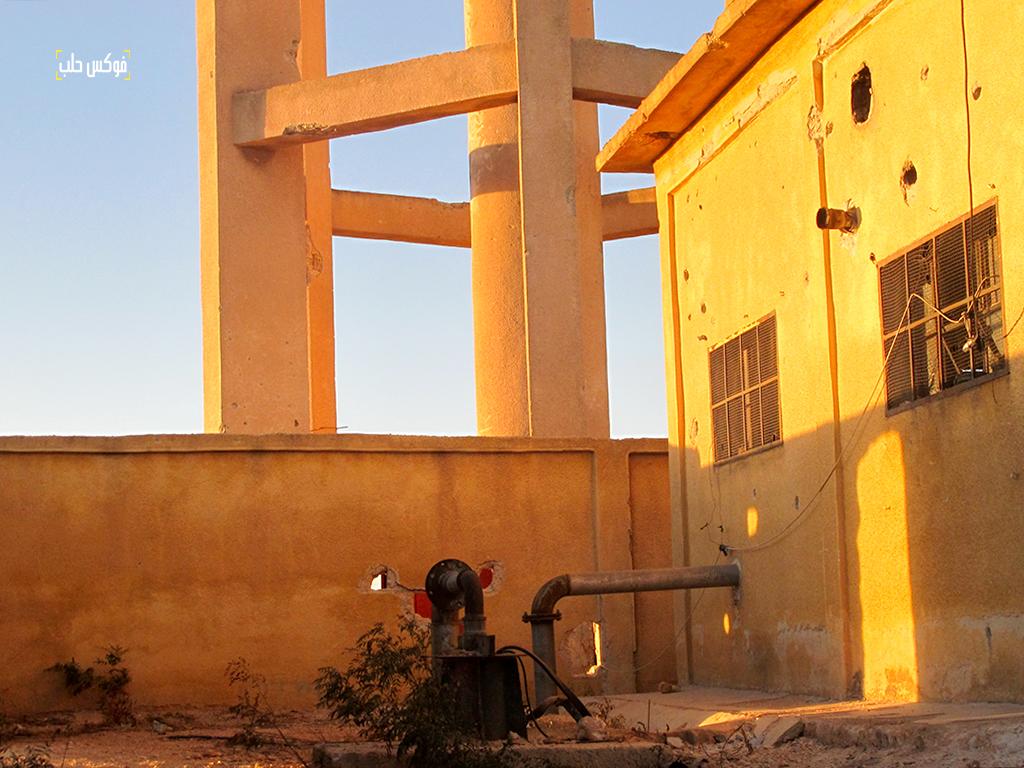 بئر ومضحة مياه قرية الحردانة