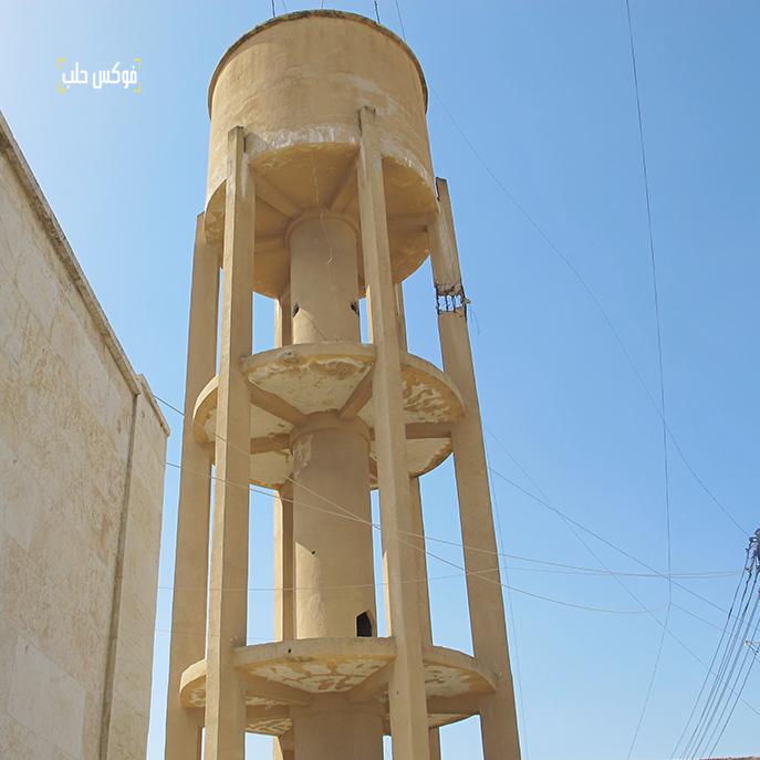 خزان مياه قرية الحردانة التابعة لأخترين