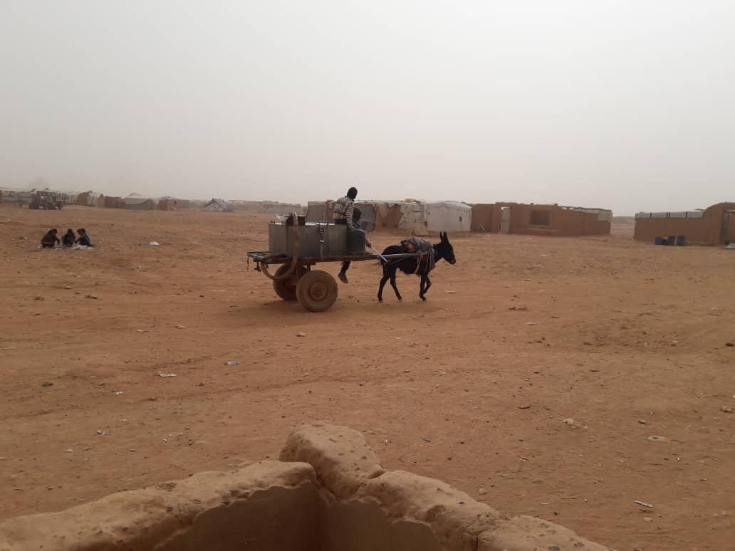 مخيم الركبان -فوكس حلب