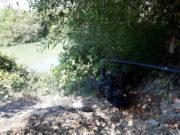 الري عن طريق الضخ في ريف إدلب