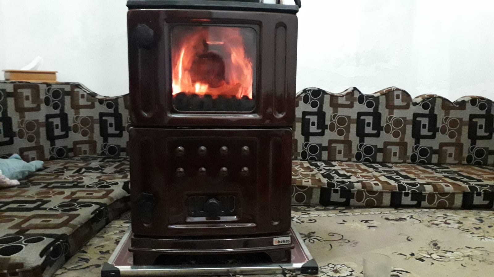 مدفأة مخصصة لوقود الفحم الحجري -فوكس حلب