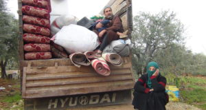 من نزوح أهالى معرة النعمان -خزامى الحموي فوكس حلب