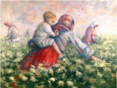 اللوحة للفنان التشكيلي لؤي كيالي -إنترنيت