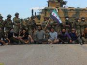 الصورة للمعتصمين على الطريق الدولي بالقرب من أريحا -انترنيت