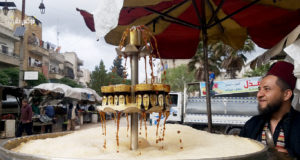 بائع سوس في إدلب