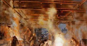 لوحة عن عيد العمال -إنترنيت