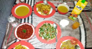 تحايل النساء في رمضان لتزيين موائد الإفطار