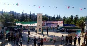 من ذكرى جمعة أطفال الحرية في إدلب