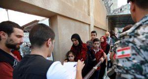 اللاجئون السوريون في لبنان - انترنت
