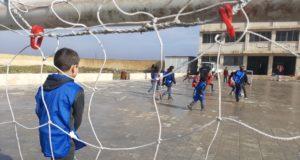 صورة من أرشيف فوكس حلب لمدرسة في مدينة إدلب