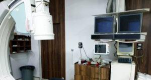 جهاز القسطرة القلبية في إحدى مشافي إدلب