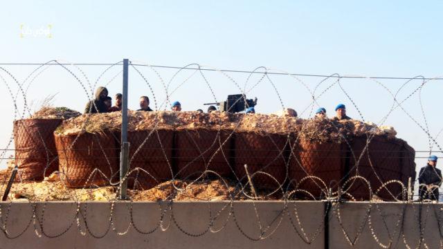 حرس الحدود التركية في واحدة من نقاط تواجدهم