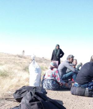 خلال الانتظار قبل الدخول إلى الرقة بين حاجزي الفرقة الرابعة وقوات سوريا الديمقراطية -فوكس حلب