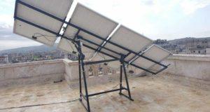 الصورة لقاعدة التحويل ودارة التتبع الشمسي -فيس بوك