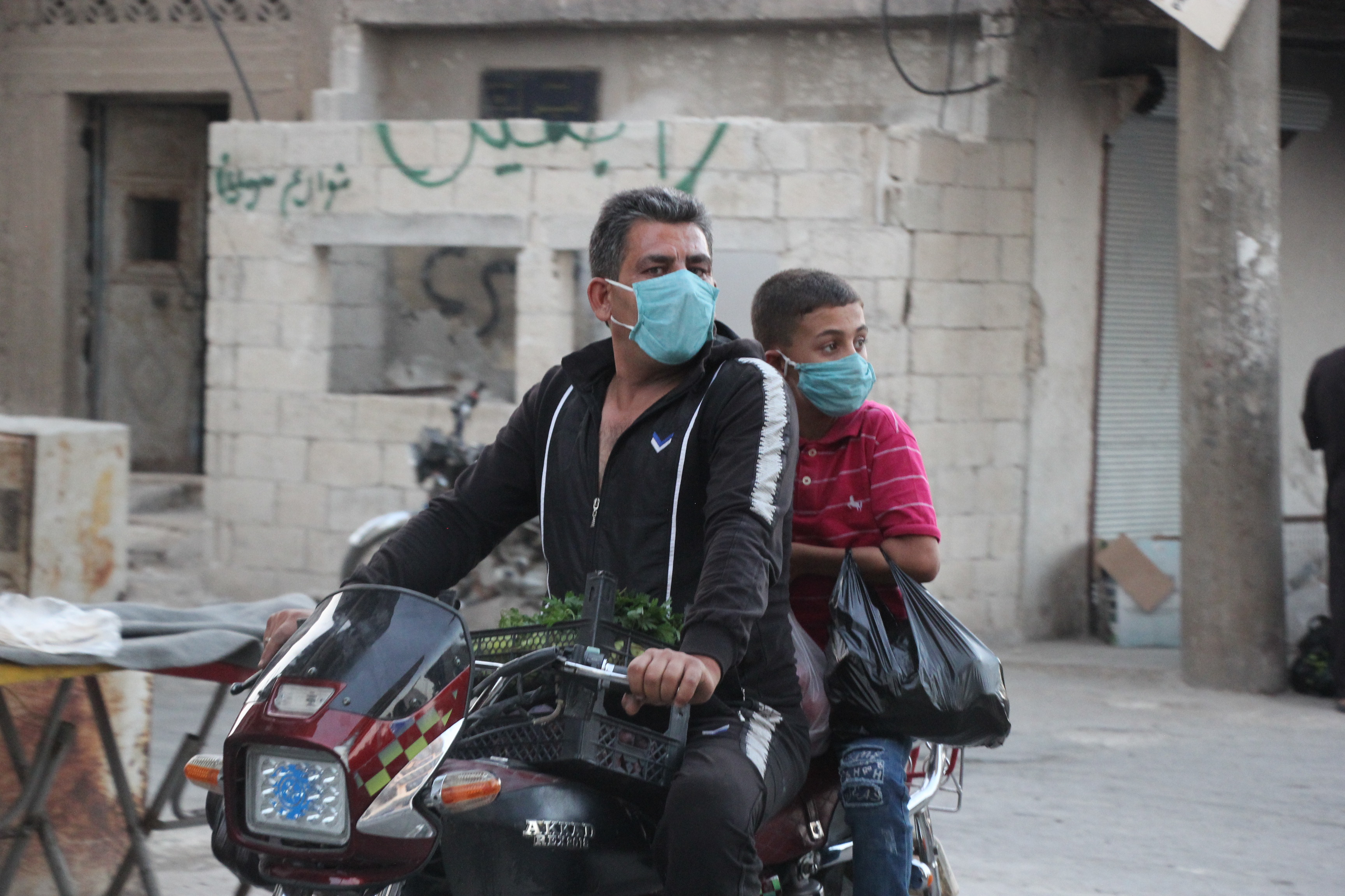 من داخل مدينة سرمين -فوكس حلب