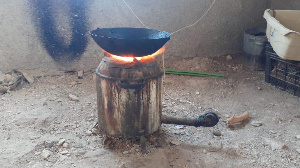 """""""الببورية"""" موقد طهي جديد في الشمال السوري -فوكس حلب"""