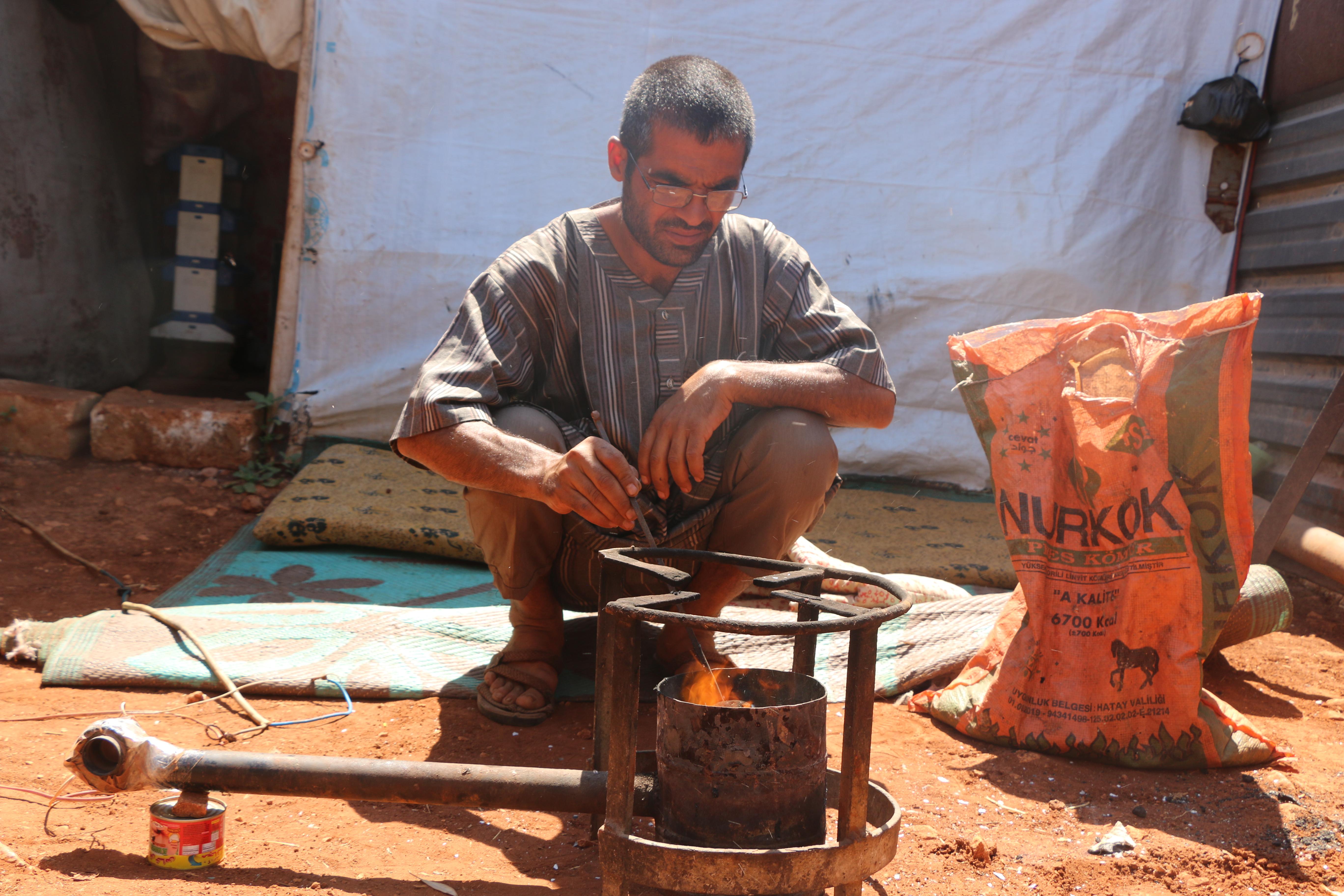 """""""الكور"""" موقد طهي جديد في الشمال السوري -فوكس حل"""