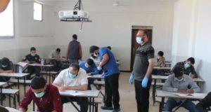 خلال العملية الامتحانية الطلاب الأحرار والنظاميين -المصدر: وزارة التربية والتعليم
