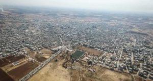 قوات الأسد تهدم أسقف المنازل في سراقب