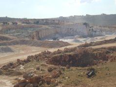 مقلع صخري بريف إدلب الشمالي -فوكس حلب