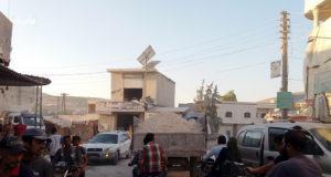 حركة العبور على طريق أطمة كفر لوسين.