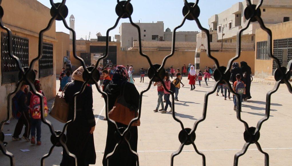 واحدة من المدارس في إدلب -فوكس حلب