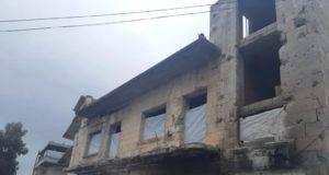 منازل غير مؤهلة للسكن في إدلب -إنترنيت