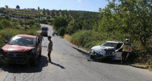أحد الحوادث المرورية في إدلب المصدر: فيس بوك